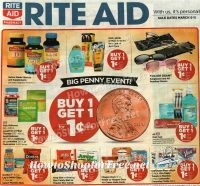 Rite Aid Early Ad Scan 3/5-3/11 ~ Come Check it Out!!
