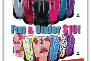 FUN+COLORFUL Optical Mouse Under $10 ~ Today Only