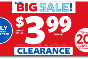 Carter's Little Big Sale ~ Items $3.99 & up + Extra 20% off In-Store!