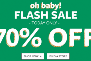 Carter's 70% OFF Flash Sale -Today Only-