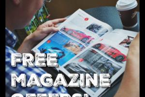7 FREE Magazine Offers!