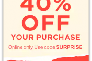 LAST DAY to Save 40% off at GAP.com!