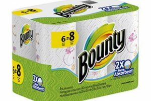 Bounty Paper Towel only 33¢ a ROLL! – STOCK UP!