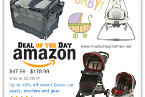 Up to 40% off Graco Car Seats, Strollers & Gear!—Deal of the Day