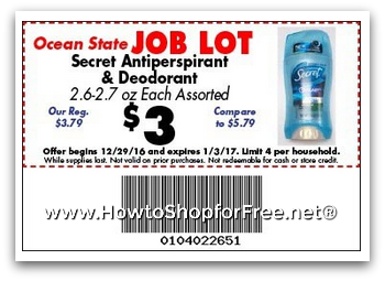 2 50 Secret Deo How To Shop For Free With Kathy Spencer