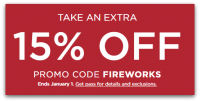 Save on After-Christmas Prices ~ NEW 15% Kohl's Coupon!