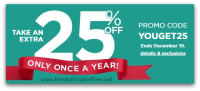 Kohl's Friends & Family 25% OFF, through 12/10