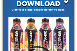 12/30: FREE BodyArmor SuperDrink for Kroger & Affiliates