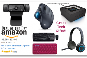 Up to 50% off select Logitech PC Accessories—Deal of the Day