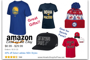 40% off Select adidas #NBA Styles—Deal of the Day