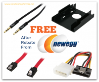 FREE After Rebate Items from NewEgg!!