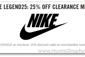 Extra 25% off Nike.com Clearance!! ~ Through Jan 4th
