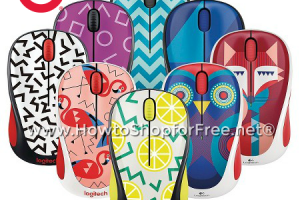 SUPER CUTE Logitech Mouse, $10 @ Target with Cartwheel!
