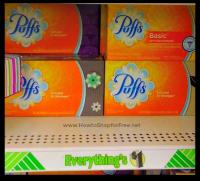 FREE + 25¢ MM Puffs Tissues at Dollar Tree!!