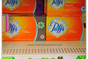 FREE + 25¢ MM Puffs Tissues at Dollar Tree!!