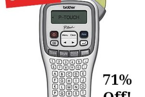 Brother Handheld Label Maker UNDER $10 ~ 71% OFF!