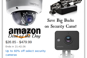 Select Security Cameras, up to 60% OFF—Deal of the Day