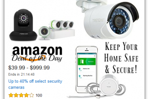 Up to 40% Off Select Security Cameras—Deal of the Day