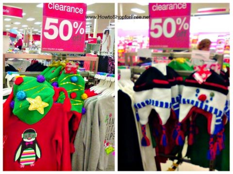 50 off christmas clearance clothes target