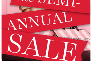 VS Semi-Annual Sale ~ Starts Tomorrow, In-Stores Only!