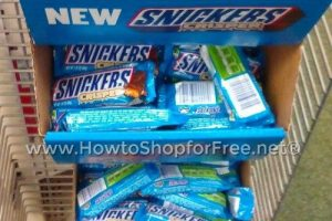 50¢ Snickers Crispers at Dollar Tree ~ Yum!