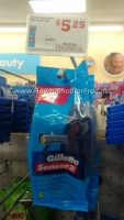 $2.25 Gillette Sensor2 Razors 5ct @ Family Dollar