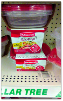 50¢ Rubbermaid TakeAlong Containers @ Dollar Tree