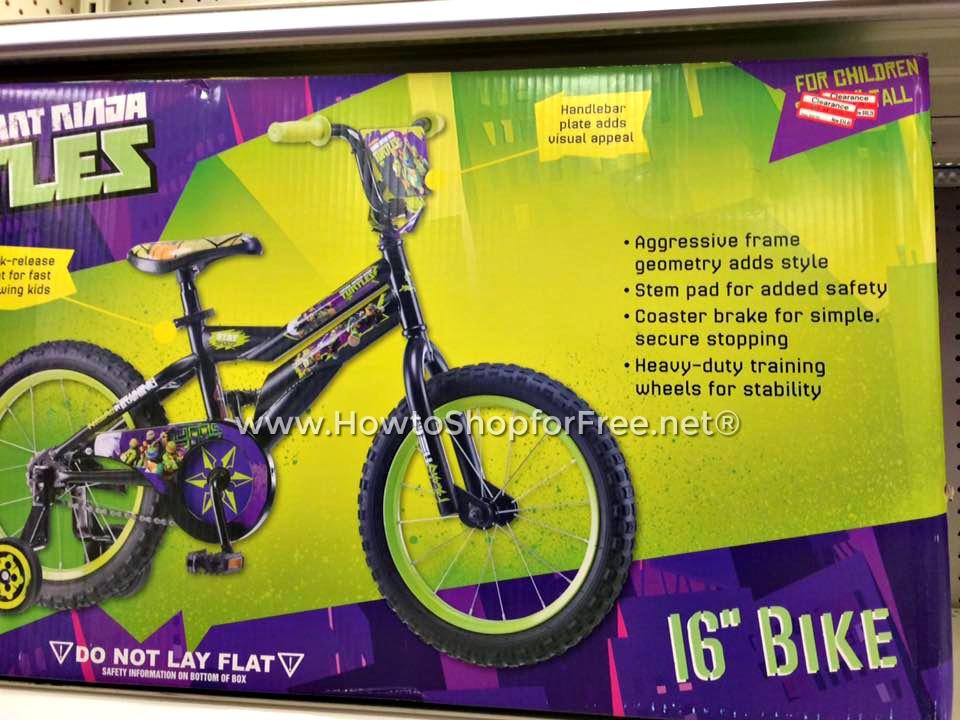 $35 TMNT Bike 16