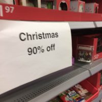 90% Off Christmas Clearance!!