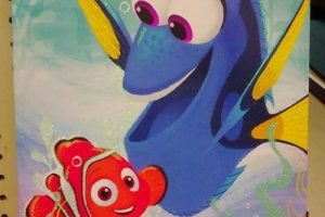 Finding Dory Canvas Print (Was/$15) as low as $4.48 @ Target!