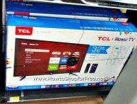 TCL 32″ Roku Smart LED HDTV, Now Only $125!