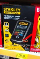 59% off Stanley FatMax 8A Battery Charger+BONUS Ext Cord!