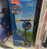 $9 Paw Patrol 3-Wheel Scooter!! (64% OFF)