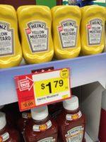 Mustard 29¢
