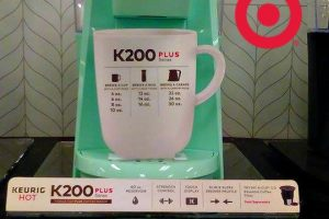 Target Price Drop ~  Keurig® K200 now only $89.99!
