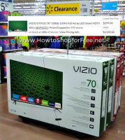 70″ VIZIO as low as $299!! 75% OFF, Whoa!!