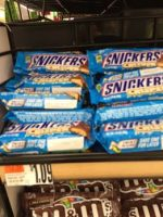 Snickers Crispers 9¢ at Stop & Shop