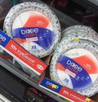 Lindsey & Chris Found 25¢ Dixie Plates at DG!!!