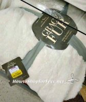 King Grace Fur Blanket, ONLY $29 at T.J.Maxx ~ Super Soft!!!
