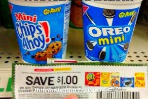 MM Nabisco Go Paks at Dollar Tree ~ Rebate Limit 5!!