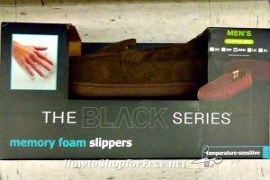 Men's Memory Foam Slippers $4.00 @ T.J.Maxx!!!