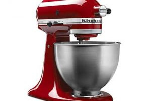 Enter For A Chance To Win A KitchenAid 5Qt. Classic Stand Mixer