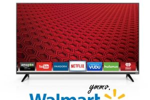 VIZIO 60″ LED Smart HDTV 86% OFF, Check Your Walmart!