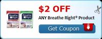 $2.00 OFF ANY Breathe Right® Product = FREE @ Dollar Tree!