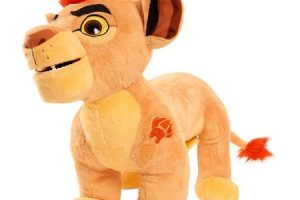 70% OFF Leap N Roar 14″ Kion Lion Plush at Target!!