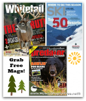 3 FREE Magazine Offers ~ Perfect for Outdoorsmen!