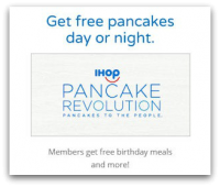 FREE Pancakes with IHOP Pancake Revolution!