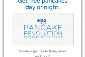 FREE Pancakes with IHOP Pancake Revolution!
