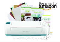 $211 Cricut Explore Air Premium Bundle +Free Ship—Deal of the Day
