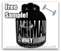 Free Sample of Universal Nutrition ANIMAL Whey!